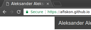 Chromium says that TLS is secure